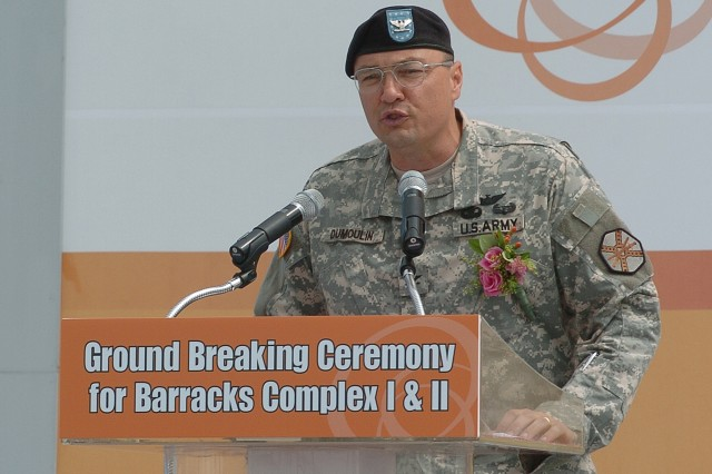 USAG Humphreys, FED break ground for new barracks