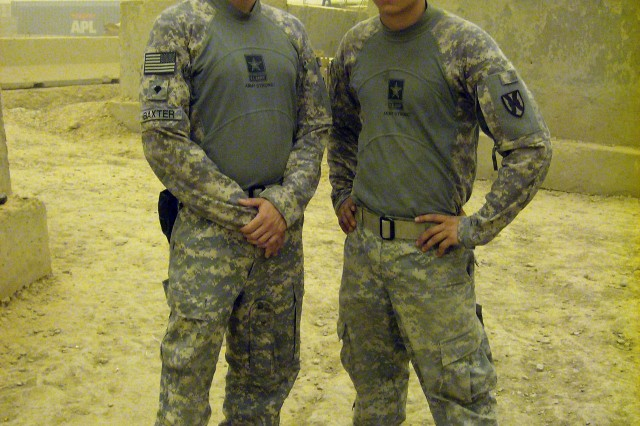 Spc. Baxter and Pfc. Slaughter