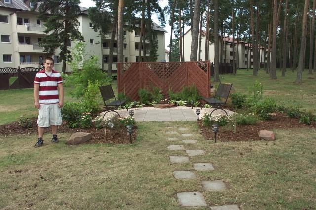 New garden at Landstuhl Fisher House