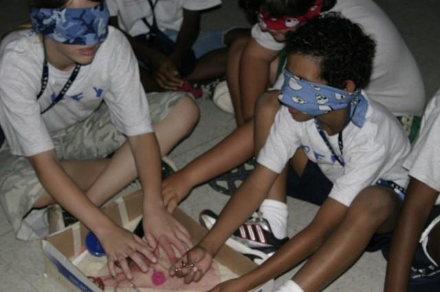 Kids learn teamwork, drug education at DEFY camp