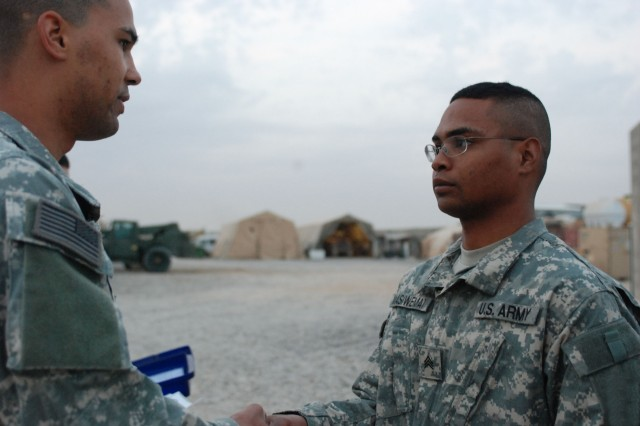 Paratrooper recognized as leader