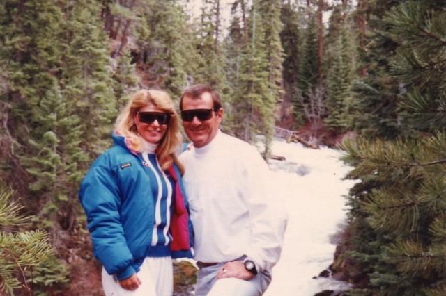 Lt. Gen. Ann Dunwoody and her husband, U.S. Air Force Retired Col. Craig Brotchie, in Bend, Oregon