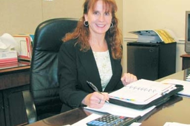Marsha Thornton is the chief contracting officer for the new DLA detachment at Redstone Arsenal.