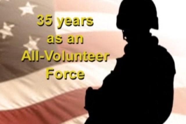 35 Years as All-Volunteer Force