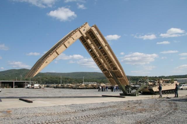 Design of Joint Assault Bridge still in test phase