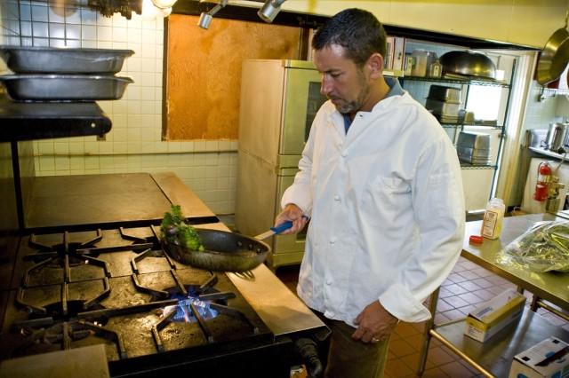 Executive chef brings culinary skills to depot