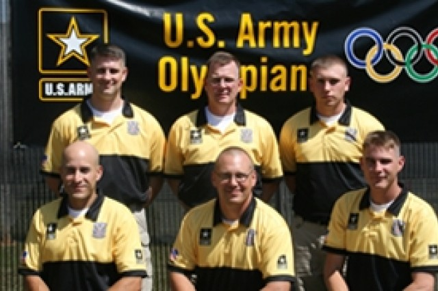 Six Soldiers of the U.S. Army Marksmanship Unit won seven slots on the 2008 U.S. Olympic Shooting Team that will compete at the Olympic Games this summer.