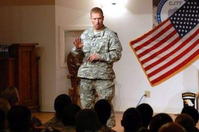 SMA visits troops in Afghanistan
