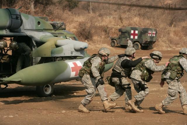 Soldiers in Korea get full-spectrum training