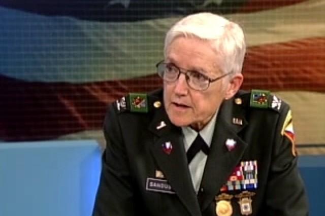 Col. Sue Ann Sandusky, Defense Language Institute.