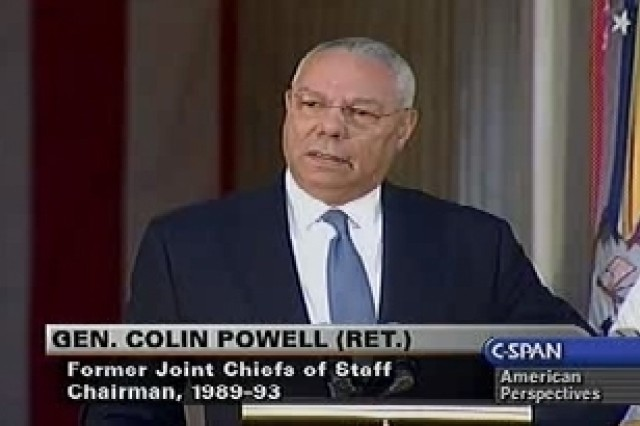 Gen. Colin Powell (Ret.)