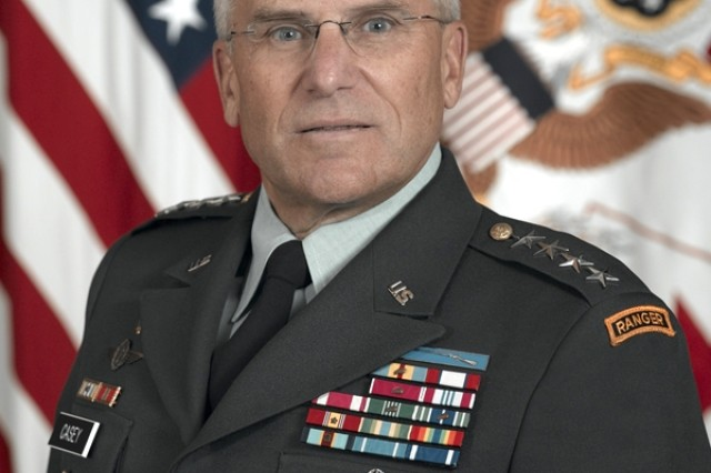 Gen. George W. Casey, Jr., Chief of Staff of the Army