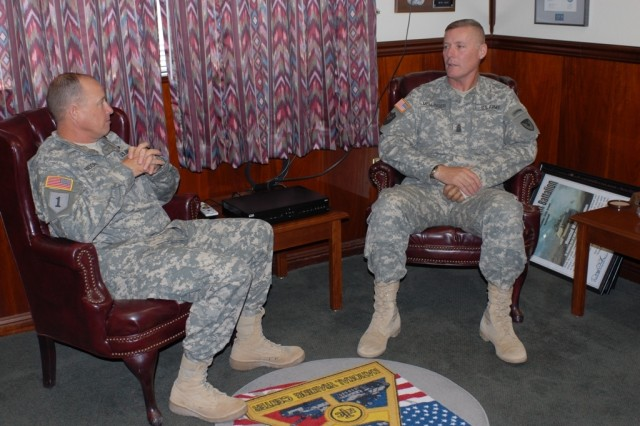 AMC CSM visits National Training Center