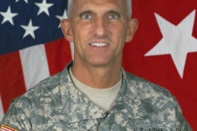 Maj. Gen. Mark P. Hertling, commander of Multinational Division North, Iraq