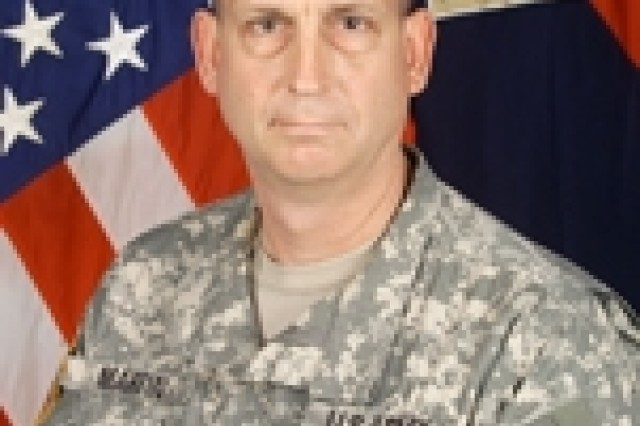 Col. Ted Martin, commander 1st Brigade Combat Team, 4th Infantry Division
