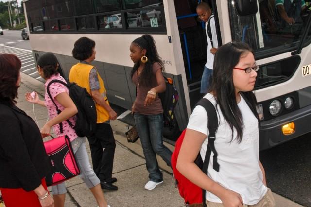 School bus passes