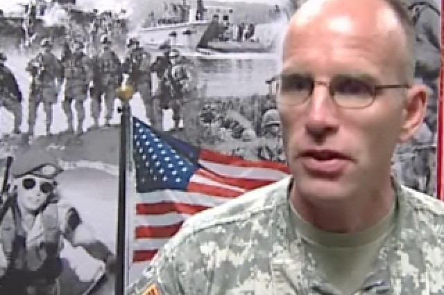 Lt. Col. Dean Rorig, 316th Expeditionary Sustainment Command.