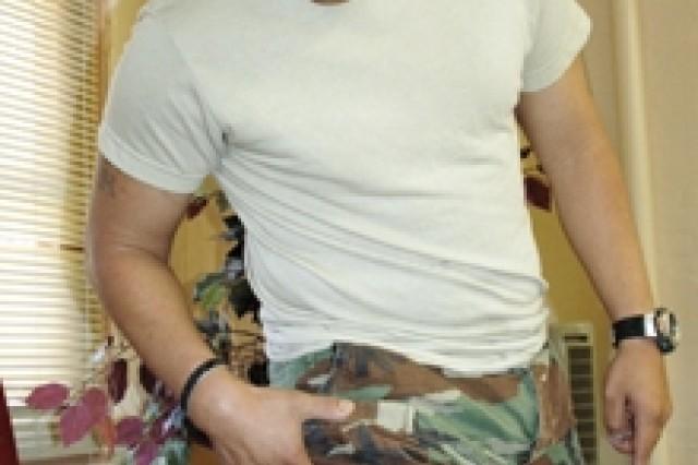 Silver Star Medal recipient Staff Sgt. Omar Hernandez