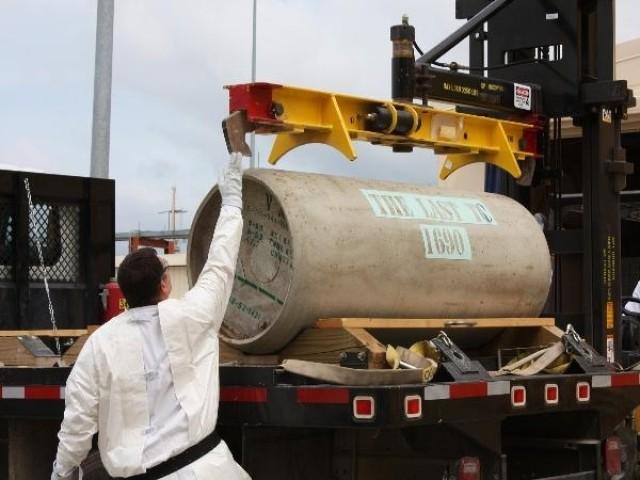 Newport Chemical Depot confirms VX stockpile neutralized