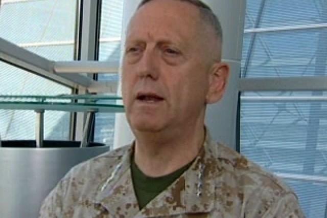 Gen. Jim Mattis, Commander, U.S. Joint Forces Command.