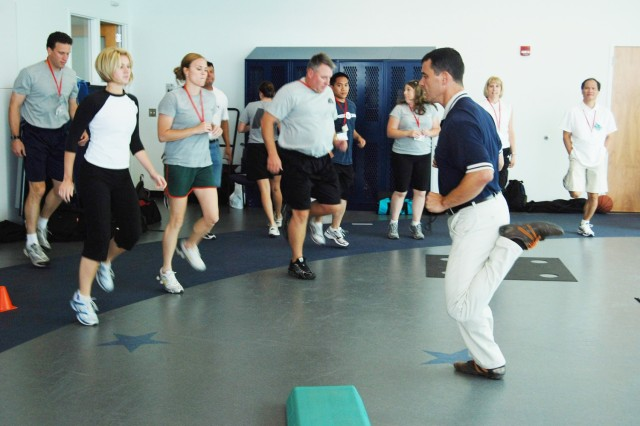 Wounded Warrior Exercise