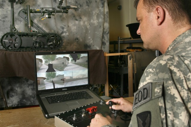 Next mission: Conquering the virtual battlefield