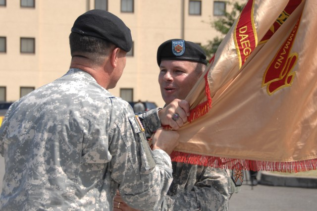 USAG-Daegu community welcomes new CSM