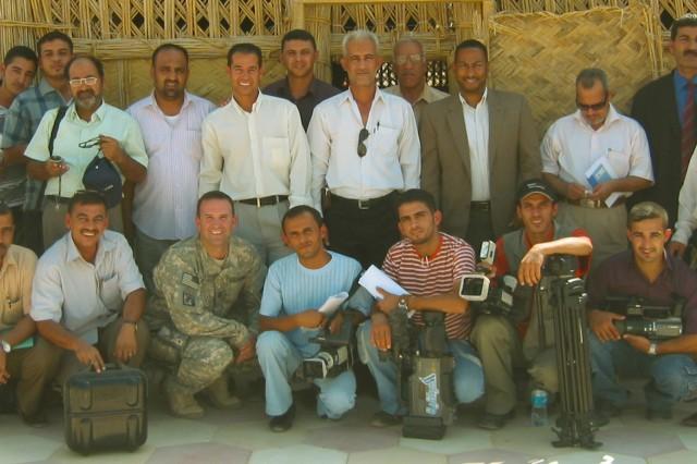 Iraqi journalists participate in media training