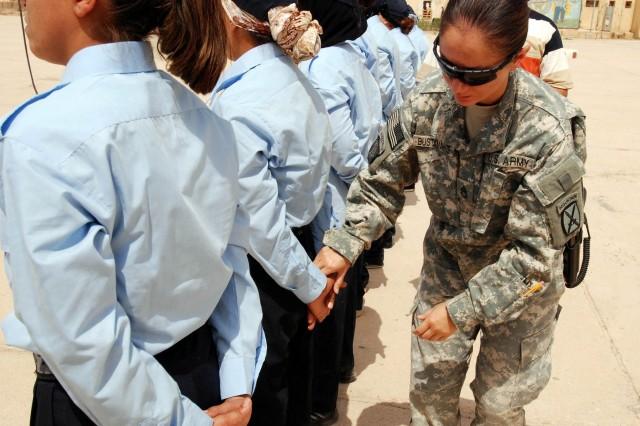 Kirkuk Police Academy trains women in Northeastern Iraq
