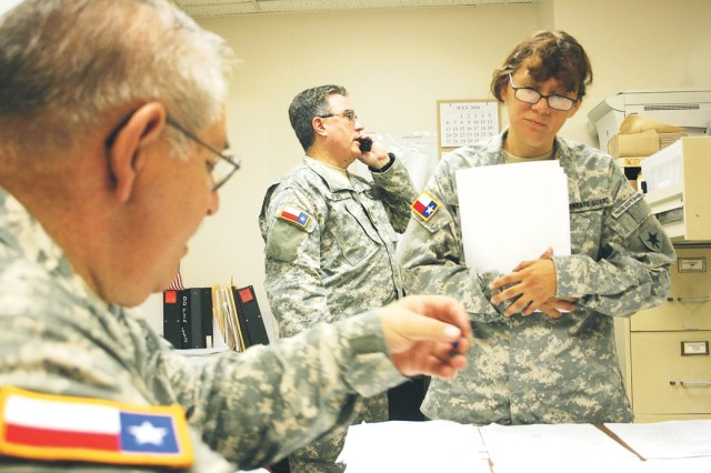 Fort Sam S Texas State Guard Provides Disaster Relief