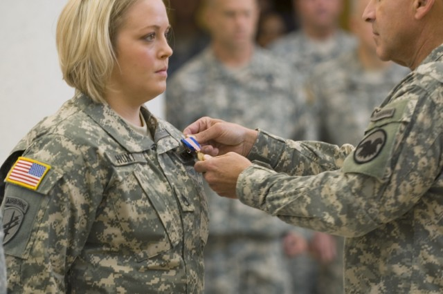 Civil Affairs Soldier earns Soldier's Medal