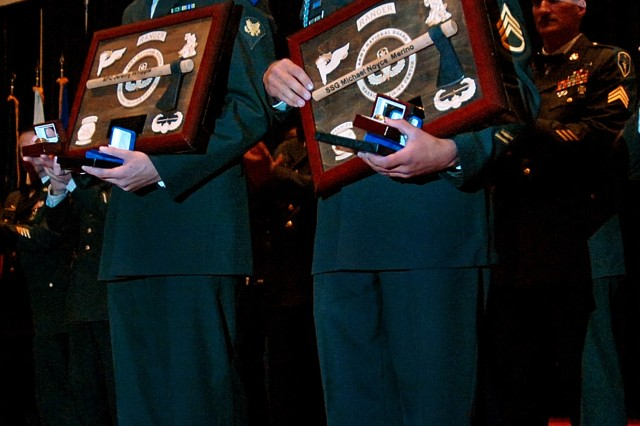 Army Guard names top Soldier and NCO