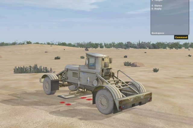 """DARWARS Ambush,"" an adaptation of ""Operation Flashpoint,"" is a simulation game in use throughout the Army. It is one of the few broadly deliverable products available."