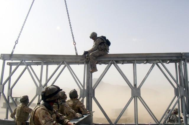 Engineers Bridge Gaps on Afghanistan's Highway 1