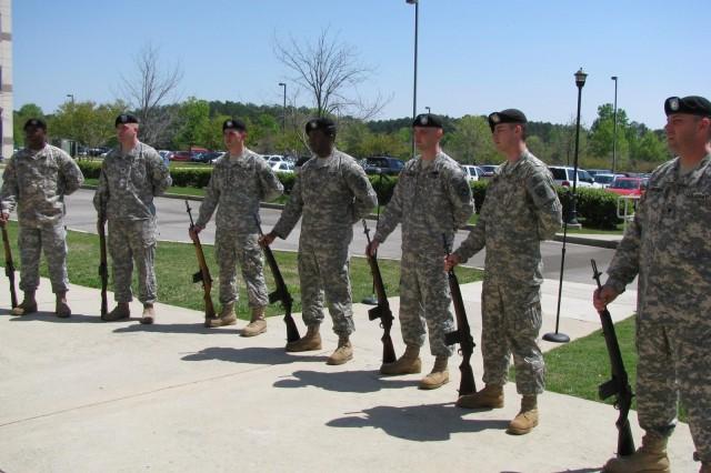 Honoring Veteran