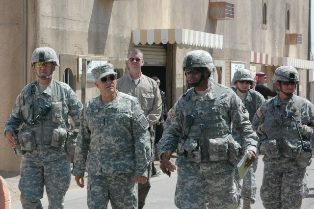 General Casey visits NTC