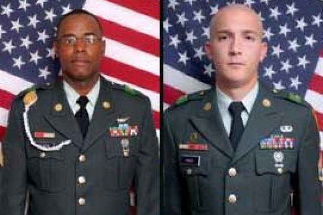 Sgt. Stanley E. Black and Staff Sgt. Jonathan R. Higgs.
