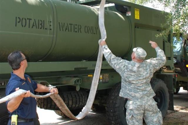Prepping Potable Water