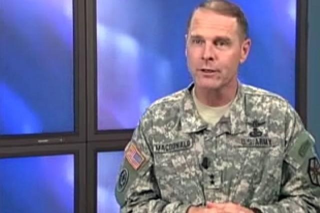 Maj. Gen. John Macdonald, Deputy Commander, IMCOM.