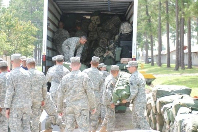 56th IBCT arrives at Fort Stewart