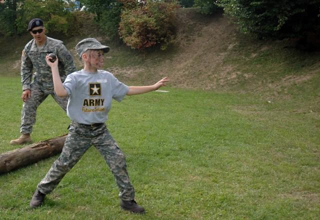 Kids get taste of Soldier life, outdoor fun during Spur Ride