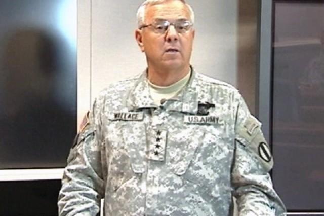 Gen. William S. Wallace, TRADOC Commanding General
