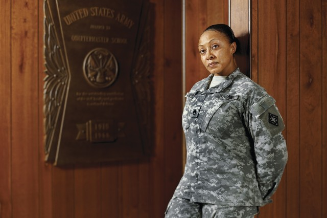 Staff Sgt. Shawntel Lotson, U.S. Army Combined Arms Support Command, contributed to the exhibit. It starts Friday and runs through Nov. 16.