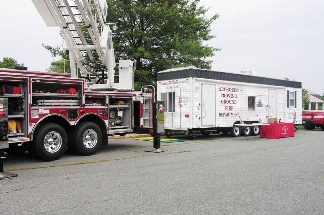 APG earns DA award for fire prevention efforts