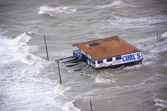 Ike's storm surge