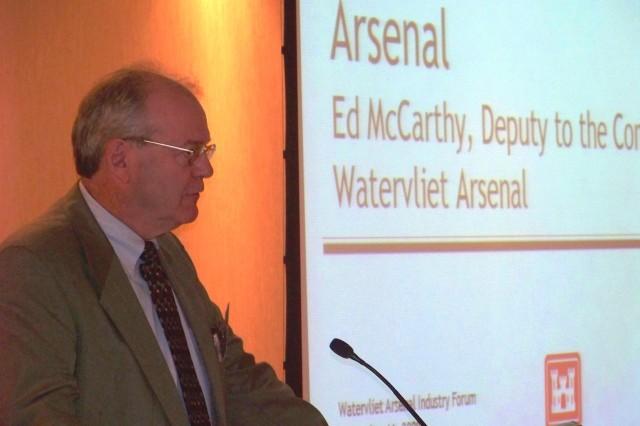 Private developer interest at Watervliet Arsenal