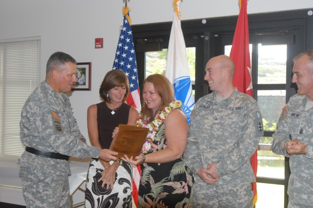 8th TSC recognizes Volunteer of the Year