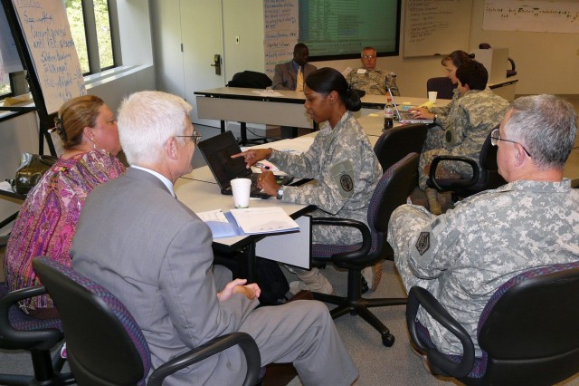 Representatives from the Department of Veterans Affairs and other agencies discussed combining the Medical Evaluation Board and Physical Evaluation Board processes at the Warrior Care and Transition Conference this week.