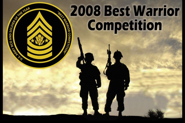 The 2008 Department of the Army NCO/Soldier of the Year Competition is scheduled Sept. 28 - Oct. 3 at Fort Lee, Va.