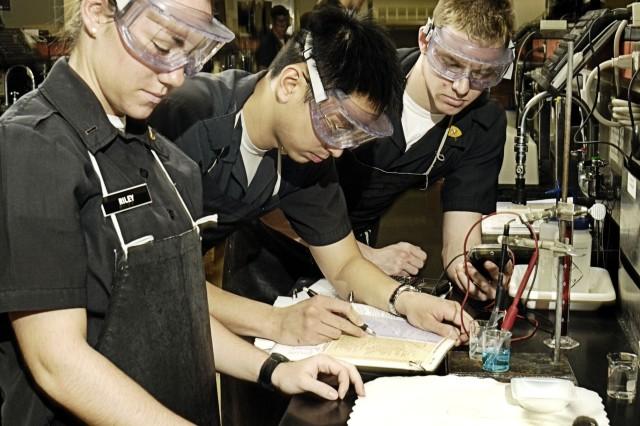 West Point Chemistry Class